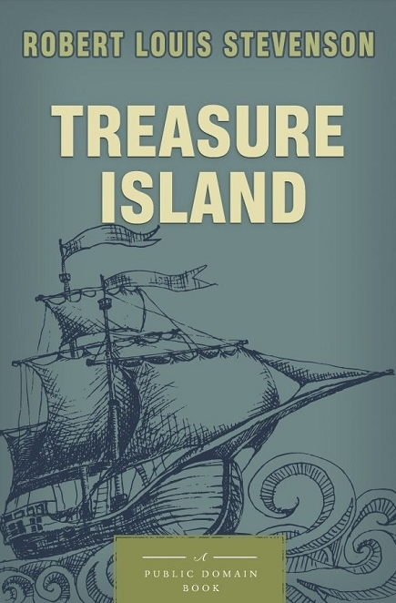 Simple Book Cover Review : Book review treasure island by robert louis stevenson